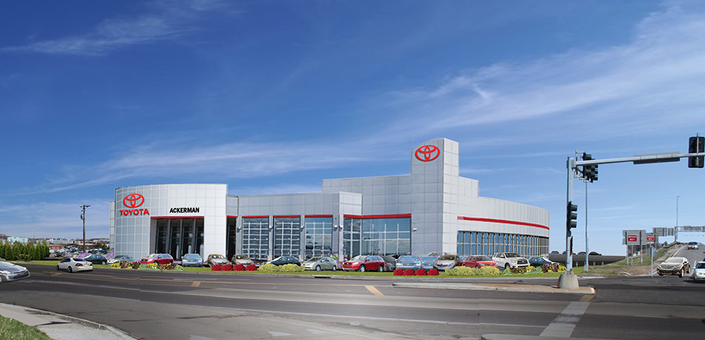 Rendering of Ackerman Toyota