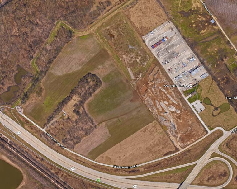 Aerial image of Davidson Surface Air New HQ